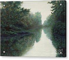 Peace Just Like A River Acrylic Print
