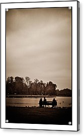 Acrylic Print featuring the photograph Peace by Lenny Carter