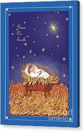 Peace On Earth Acrylic Print by Dessie Durham