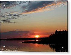 Acrylic Print featuring the photograph Peaceful Sunset by Rachel Cohen