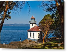 Peaceful Thinking Acrylic Print by Ken Stanback