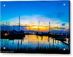 Peacefull Sunset Acrylic Print
