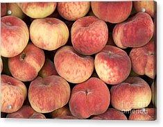 Peaches Acrylic Print by Jane Rix