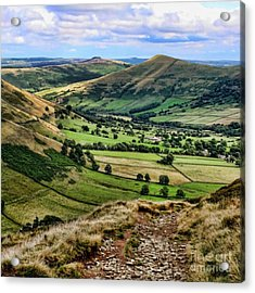 Peak District Acrylic Print by Isabella F Abbie Shores