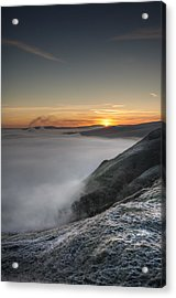 Peak District Sunrise Acrylic Print