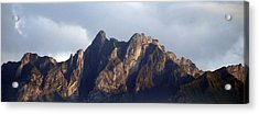 Acrylic Print featuring the photograph Peaks by Pravine Chester