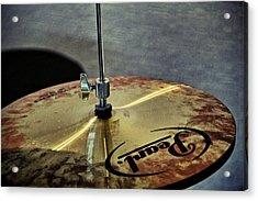 Pearl Hi Hat Acrylic Print by Odd Jeppesen