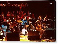 Pearl Jam Bridge Benefit Acrylic Print by Stephen Miner