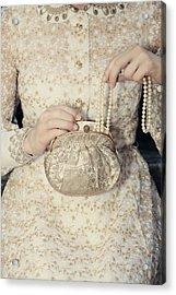 Pearls Acrylic Print by Joana Kruse