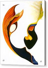 Peek-a-boo Acrylic Print by Joanna Pregon