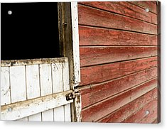 Acrylic Print featuring the photograph Peeling Paint by Lorraine Devon Wilke