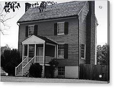 Peers House Appomattox County Court House Virginia Acrylic Print by Teresa Mucha