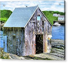 Pemaquid Fish House Acrylic Print