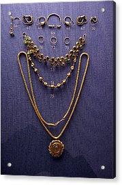 Pendant With Bracelet Acrylic Print by Andonis Katanos