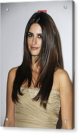 Penelope Cruz At Arrivals For The Acrylic Print by Everett