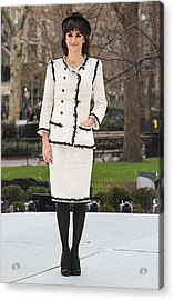 Penelope Cruz Wearing A Chanel Suit Acrylic Print by Everett