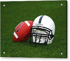 Penn State Football Helmet Acrylic Print by Joe Rokita