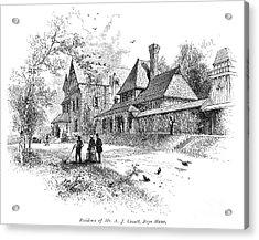 Pennsylvania: House, 1876 Acrylic Print by Granger