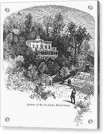 Pennsylvania: House, C1876 Acrylic Print by Granger