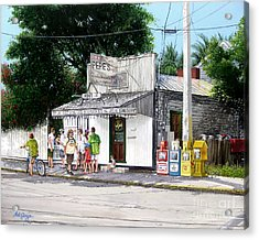 Pepe's Cafe Key West Florida Acrylic Print