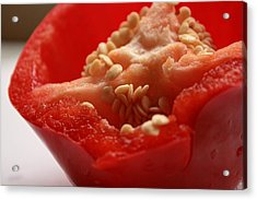 Pepper Seeds Acrylic Print