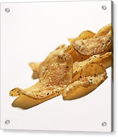 Peppered Crisps Acrylic Print by Kevin Curtis