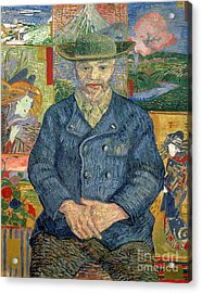 Pere Tanguy Acrylic Print by Vincent van Gogh