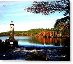 Perfect At Lake Potanipo Acrylic Print by Ruth Bodycott