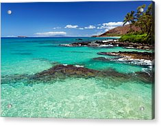 Perfect Day At Makena Acrylic Print
