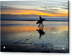 Perfect Day's End Acrylic Print by Athena Lin