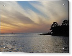Acrylic Print featuring the photograph Perfect Florida Finish by Judy Hall-Folde