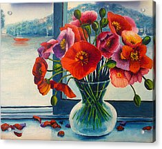 Perfect Poppies Acrylic Print