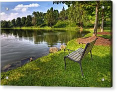 Acrylic Print featuring the photograph Perfect Spot To Rest by Yelena Rozov