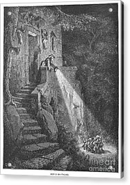Perrault: Tom Thumb Acrylic Print by Granger