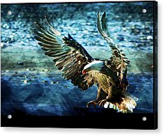 Acrylic Print featuring the digital art Perserverance by Carrie OBrien Sibley