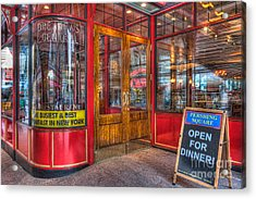 Pershing Square Central Cafe IIi Acrylic Print by Clarence Holmes