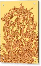 Persian Ornament Acrylic Print by Mohsen Mousavi