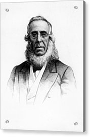 Peter Cooper 1791-1883 Acrylic Print by Everett