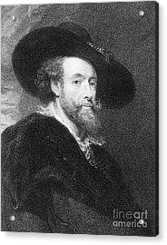 Peter Paul Rubens Acrylic Print by Granger