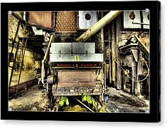Acrylic Print featuring the digital art Peters Factory 02 by Kevin Chippindall