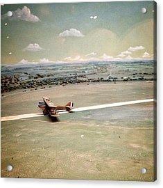 Petite Plane Acrylic Print