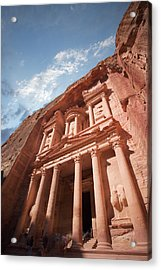 Petra, Jordan Acrylic Print by Michael Holst Images