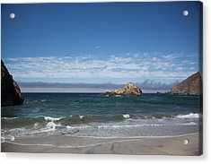 Pfeiffer Beach Acrylic Print by Ralf Kaiser