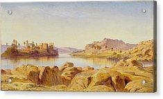 Philae - Egypt Acrylic Print