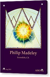 Philip Madeley Acrylic Print by Ahonu