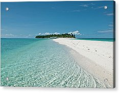 Philippines, Calangaman Island Acrylic Print by Photo by Karl Lundholm