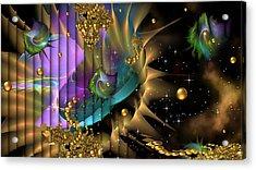 Phool's Gold Acrylic Print by Phil Sadler