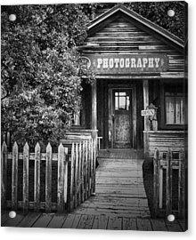 Photo Shop  Acrylic Print by Jerry Cordeiro