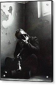 Photographer Acrylic Print by Franz Roth