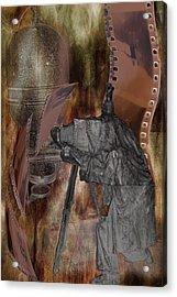 Photographer Of Campo Grande Acrylic Print by Angel Jesus De la Fuente